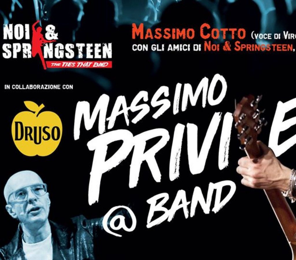 Massimo Priviero @ Band