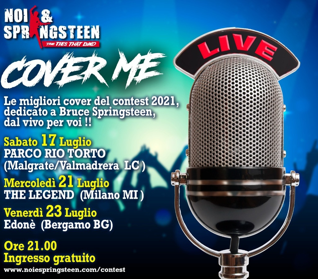 COVER ME LIVE