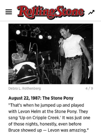 Springsteen Rolling Stones