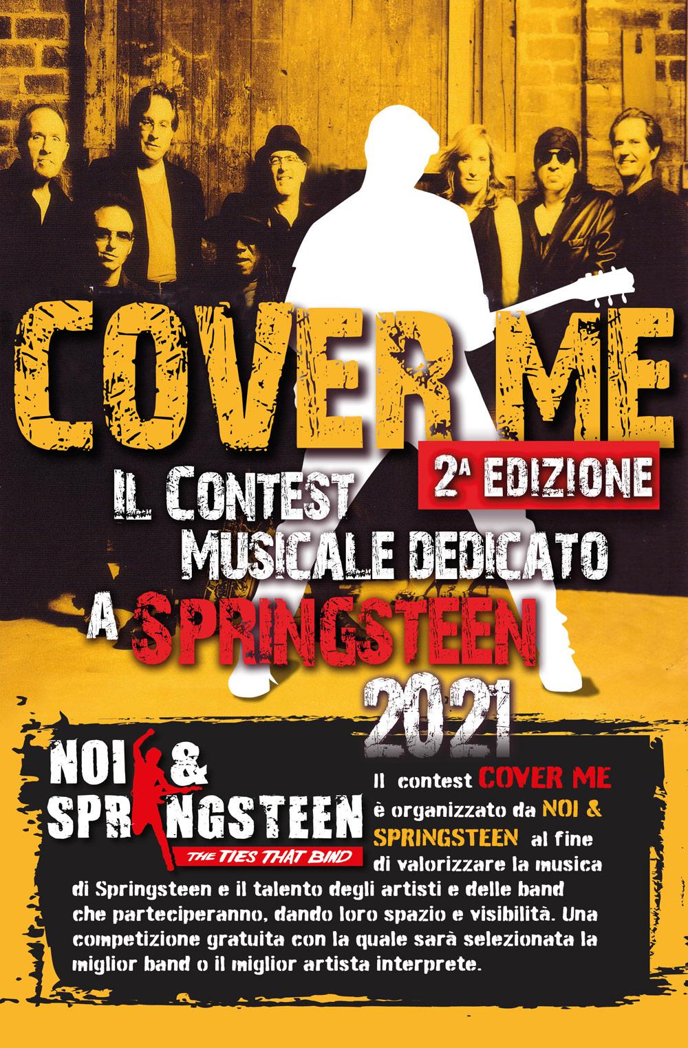 COVER ME Il primo contest musicale dedicato a Springsteen